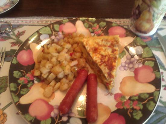 Manor of Time - A Bed and Breakfast : Breakfast Course Two
