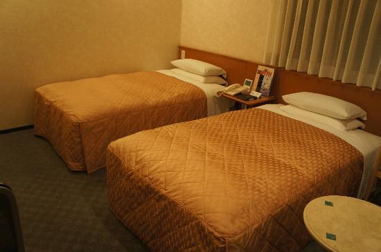 Urvest Hotel Kamata Kamata East : ツインを利用