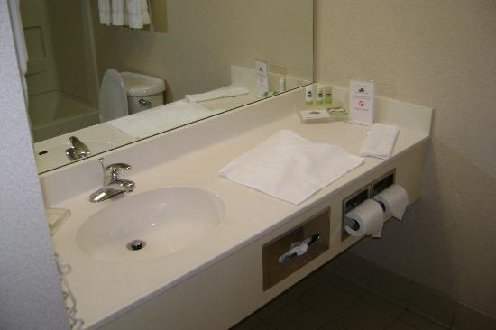 Country Inn & Suites By Carlson, Nashville Airport East : Average bathroom