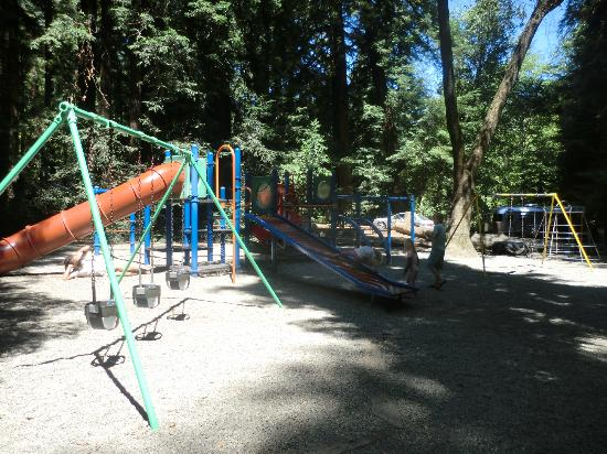 Big Sur Campground & Cabins : Playground
