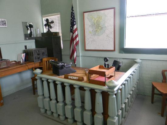 The Andy Griffith Museum: Inside the court house