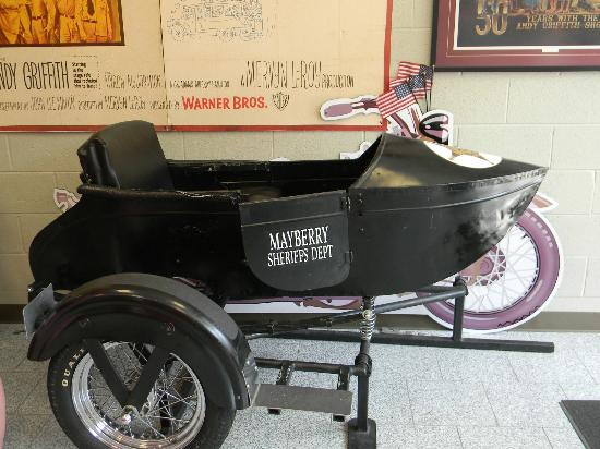 The Andy Griffith Museum: The side car