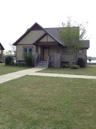Eufaula, AL: Front of our 2 bedroom lakefront cottage