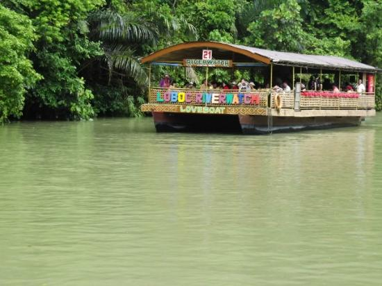 Loboc Ecotourism Adventure Park: The boat