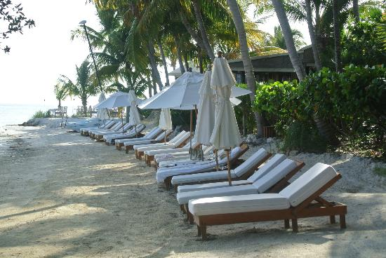 Little Palm Island Resort & Spa, A Noble House Resort: Beach area