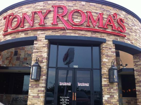 Front of Tony Roma's N Bryan, Texas