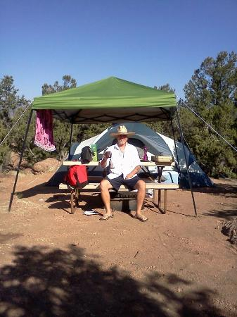 Echo Canyon Campground & RV Park: Nice little spot in the back
