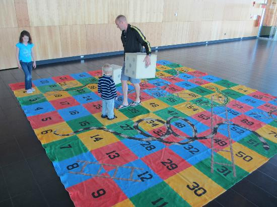 Galt Museum & Archives: Human Snakes & Ladders!