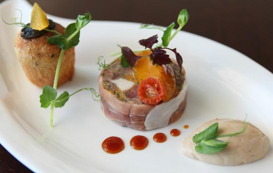 Friends Restaurant: Chicken and ham hock terrine