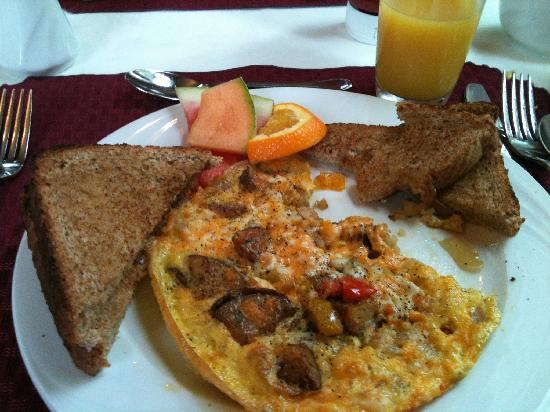 بوندي آرمز: how's this for a complimentary breakfast - it tasted as good as it looks! 