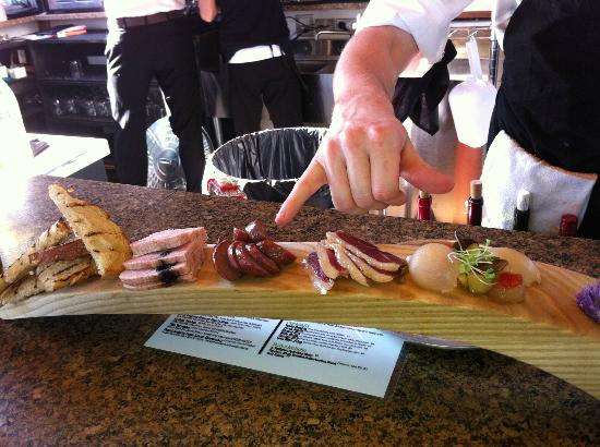 Cerulean: Charcuterie Board - from the Tapa Menu in the Garden