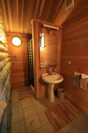 Tower Rock Lodge: Cabin w/c