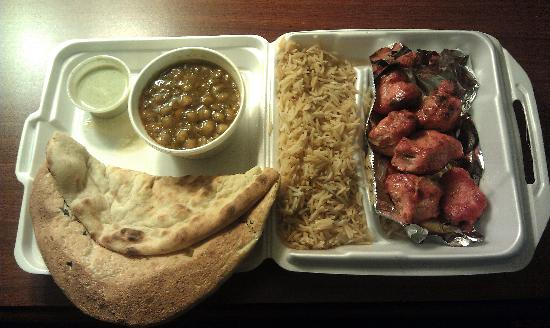 Kabob Palace : My to go plate - more than enough!