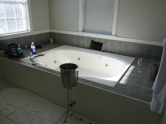 Landmark Inn and Suites : hot tub