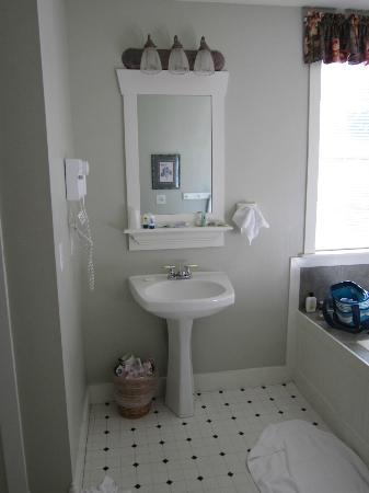 Landmark Inn and Suites : sink