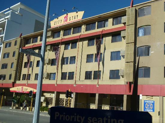 Perth Central City Stay: City Stay Apartment.