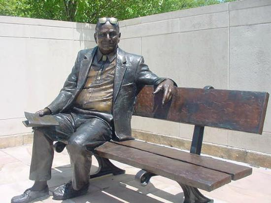 Museum of Nebraska Art: A Nebraskan you may have used in college; visit MONA to find out who he is!