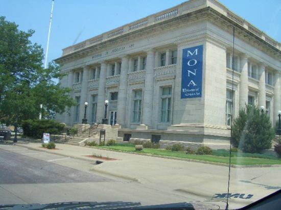 Museum of Nebraska Art: MONA is on Central Avenue just north of Highway 30.