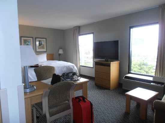 Hampton Inn & Suites by Hilton San Jose Airport: nice large room