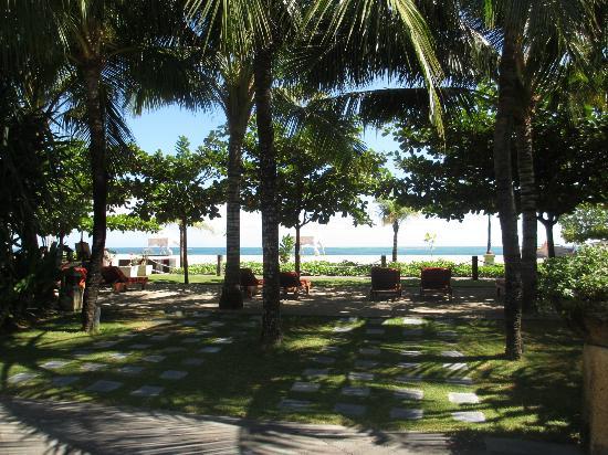 The Sandi Phala: veiw from pool grtounds