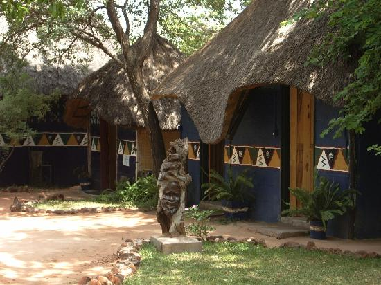 Victoria Falls Backpackers: shared rooms