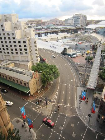 Metro Apartments On Darling Harbour: View from our room.