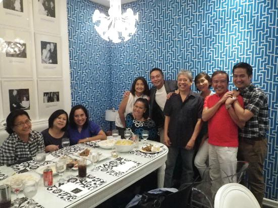 Romulo Cafe: Party in Romulo's Blue Room