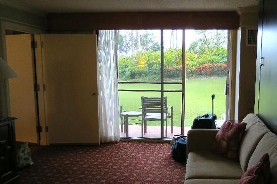 Kauai Marriott Resort The Living Room Had This