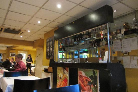 New Thai Garden : Interior of restaurant