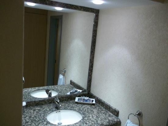 Hotel Riazor : Vista entrada Baño