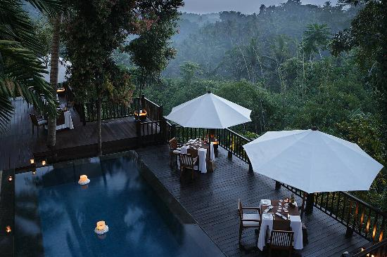 ‪كايومانيز أوبود برايفت فيلا آند سبا: Kayumanis Ubud Private Villa & Spa: Dining Corner Restaurant‬