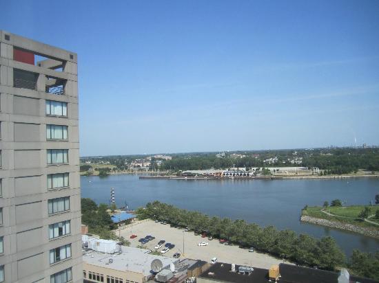 river view picture of park inn toledo toledo tripadvisor. Black Bedroom Furniture Sets. Home Design Ideas