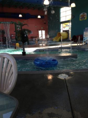 Fairfield Inn & Suites Gillette: waterpark slides