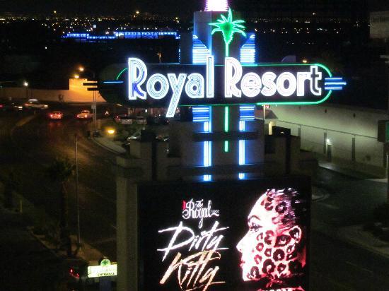Royal Resort: My view at night