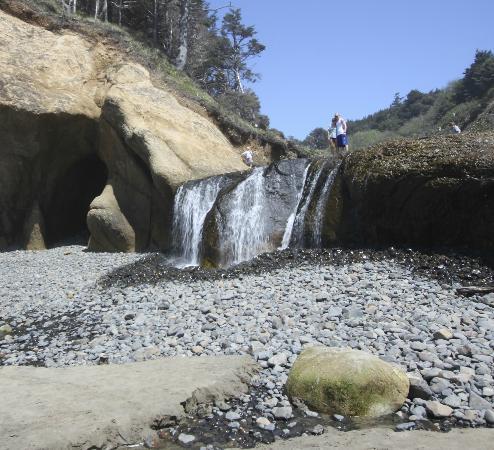 Hug Point State Park Fall Creek Falls
