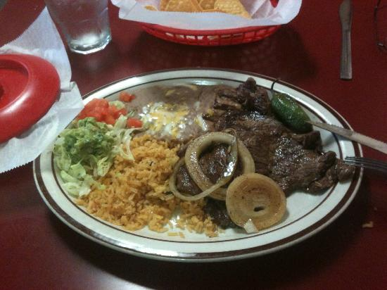 Boardman, OR: Carne Asada Dinner