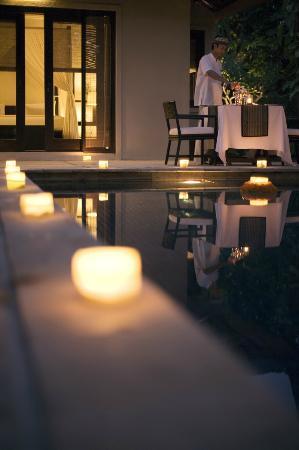 the gangsa Private Villa by Kayumanis: Romantic Dinner