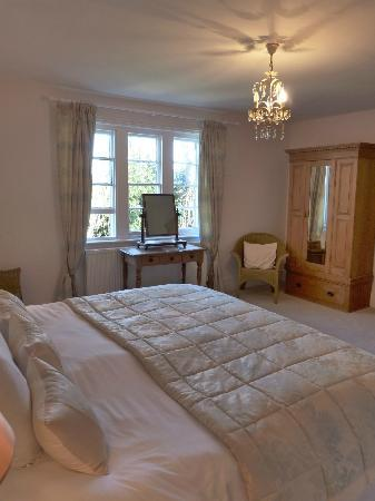 High Lodge Farm: View across to the window in the main king room