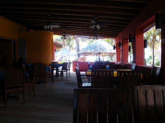 Mayan Princess Beach & Dive Resort: Restaurant