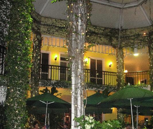 Outdoor Dining At Old Naples Pub