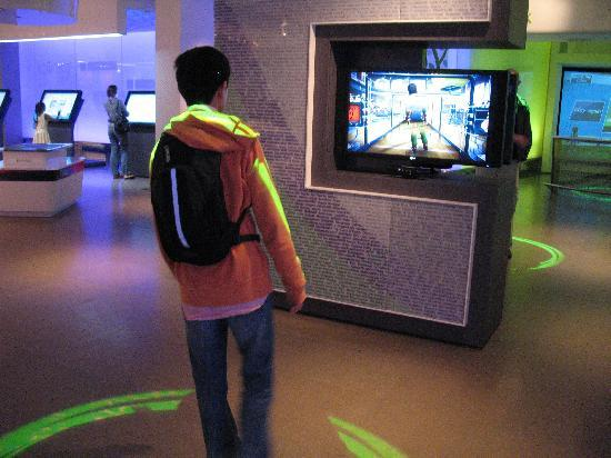 Microsoft Visitor Center: Computer entertainment