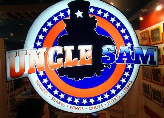 Uncle Sam Restaurant: Great sign