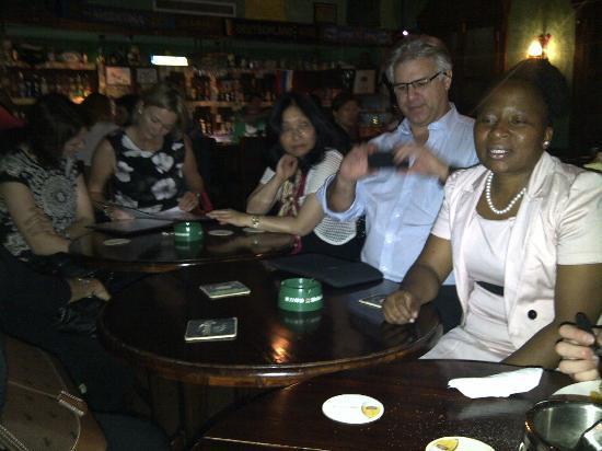 Druid's Irish Pub & Restaurant : Bunch of South African winos in Yantai