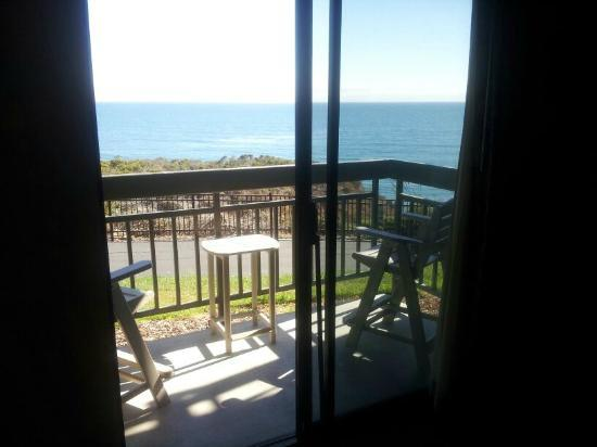The Inn at the Cove: View outside from inside room
