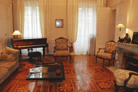 La Chambre d'Hugo : Salon