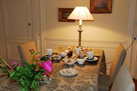 La Chambre d'Hugo : A feast for pampered guests