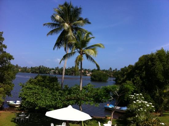 The Waterside Bentota: view from room 4