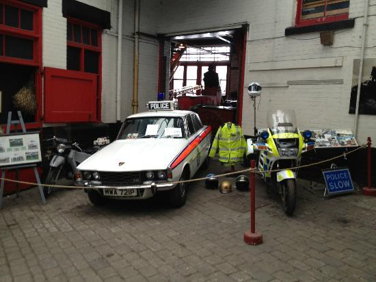 National Emergency Services Museum: some of the police vehicles
