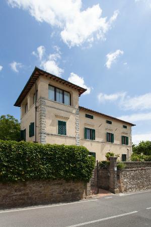 Villa Cristina: View