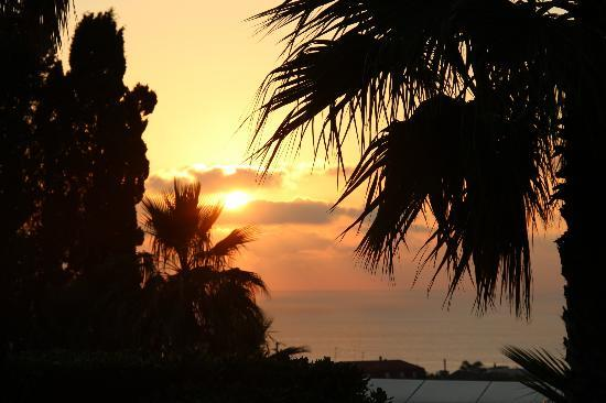 Agriturismo Ruralia: Sonnenuntergang